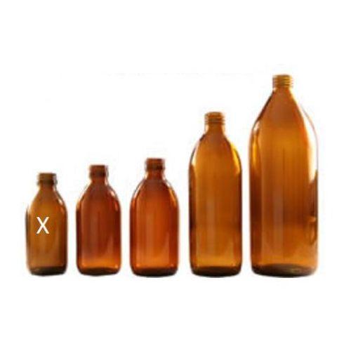 Retro image Butelka apteczna 150 ml szkło brązowe