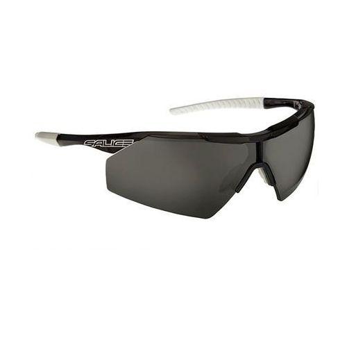 Okulary Słoneczne Salice 004 Polarized BLKWH/PRW