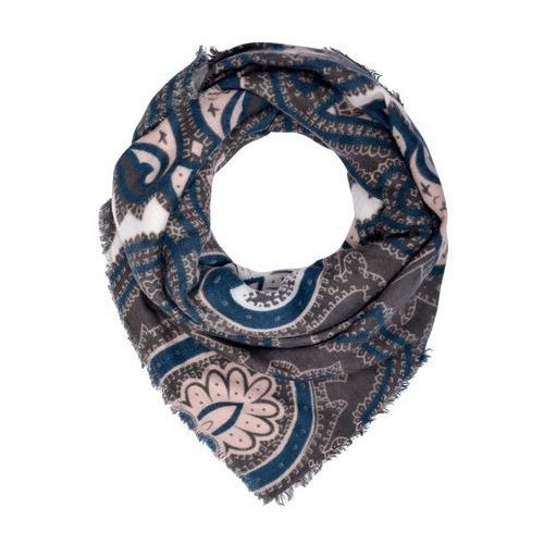 ONLY ONLPINOT SQUARE SCARF Chusta blue wing teal/pumice stone/cameo