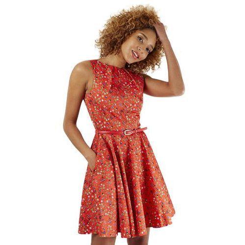 Closet london damska sukienka 36 czerwona