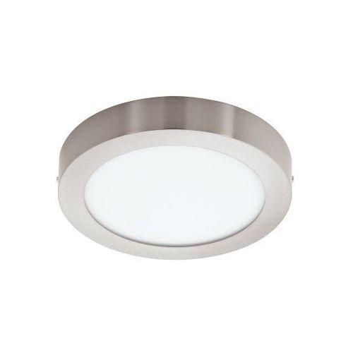 Eglo Plafon lampa sufitowa fueva 1 94527 natynkowa oprawa led 22w okrągła nikiel satynowany
