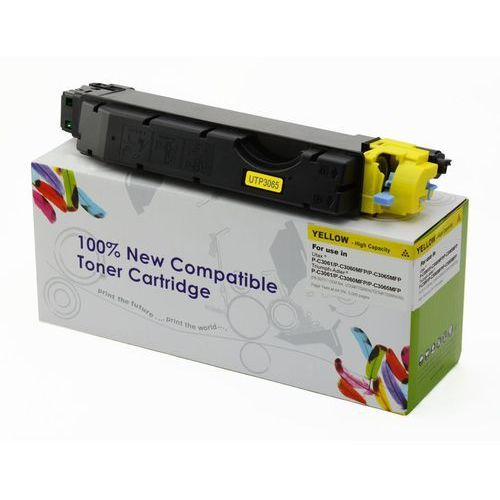 Cartridge web Toner cw-u3060yn yellow do drukarek utax (zamiennik utax pk-5011y / 1t02nraut0) [5k] (5902335705863)