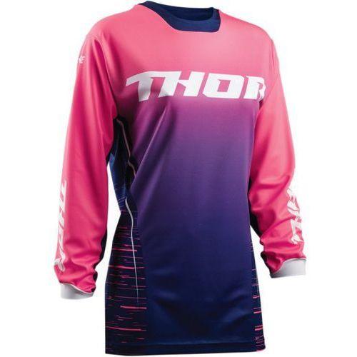 bluza offroad womens pulse dashe navy/pink =$ marki Thor
