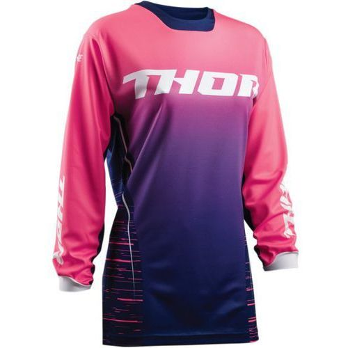 Thor_2018 Thor bluza offroad womens pulse dashe navy/pink =$