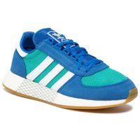 Buty - marathon tech ee4918 hiraqu/ftwwht/blue, Adidas, 42-46