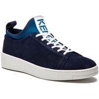 Sneakersy - f865sn136l56 bleu marine 76 marki Kenzo