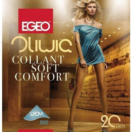"Rajstopy Egeo Oliwia Soft Comfort XL 20 den ""24h"" 5-xl, beżowy/golden. Egeo, 5-xl"