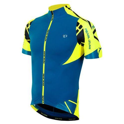 Pearl Izumi P.R.O. Leader - męska koszulka rowerowa (niebiesko-żółty)