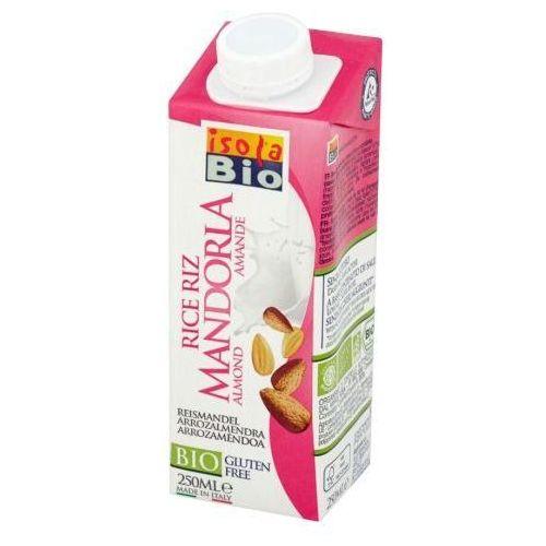 Napój ryżowy migdałowy bezglutenowy bio 250 ml marki Isola bio