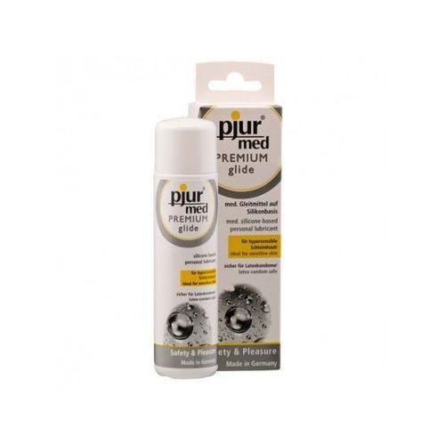 Pjur (ge) Żel silikonowy pjur med premium glide 100ml   100% dyskrecji   bezpieczne zakupy