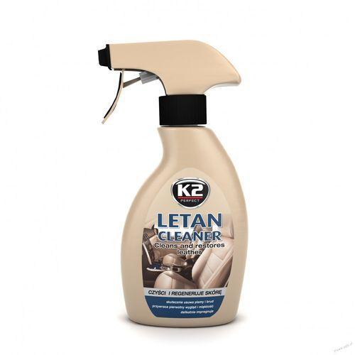 Płyn do czyszczenia skóry letan cleaner 250 ml czyści i regeneruje skórę marki K2