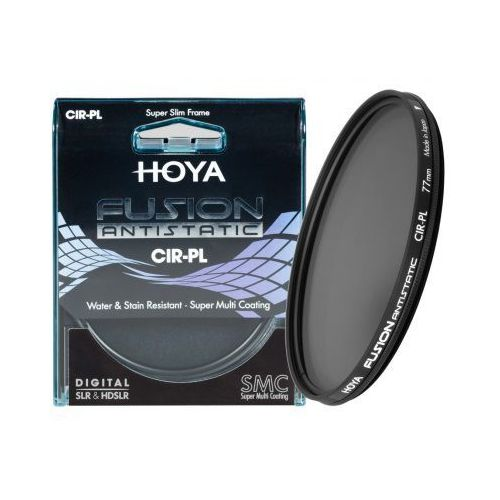 Filtr polaryzacyjny fusion antistatic cir-pl 58mm marki Hoya