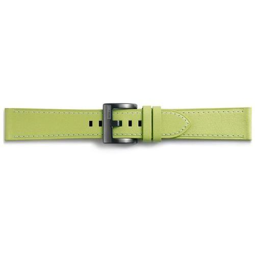 Samsung Gear Sport Classic Leather Strap GP-R600BREEBAE Olive-green, kolor zielony