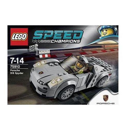 lego speed champions porsche 918 spyder 75910 lego por wnywarka w interia pl klocki dla dzieci. Black Bedroom Furniture Sets. Home Design Ideas