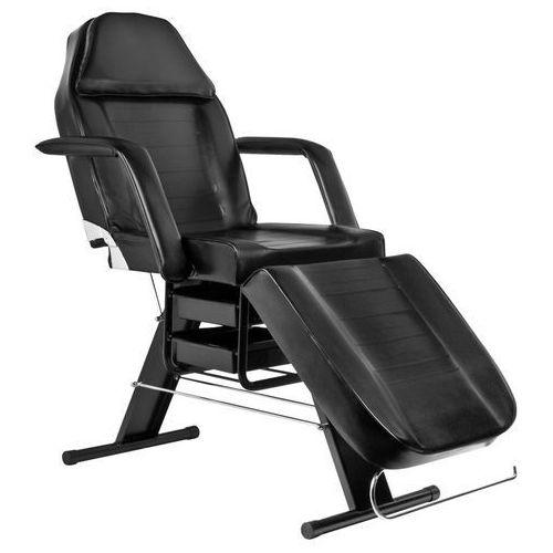 Activ Fotel kosmetyczny z kuwetami czarny a 202