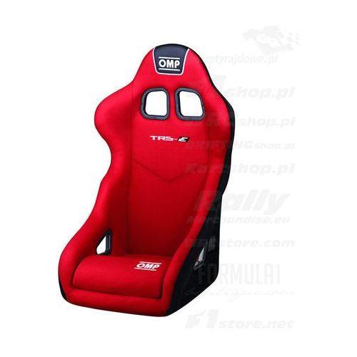 Fotel OMP TRS MY14 czerwony (homologacja FIA) z kategorii Fotele sportowe