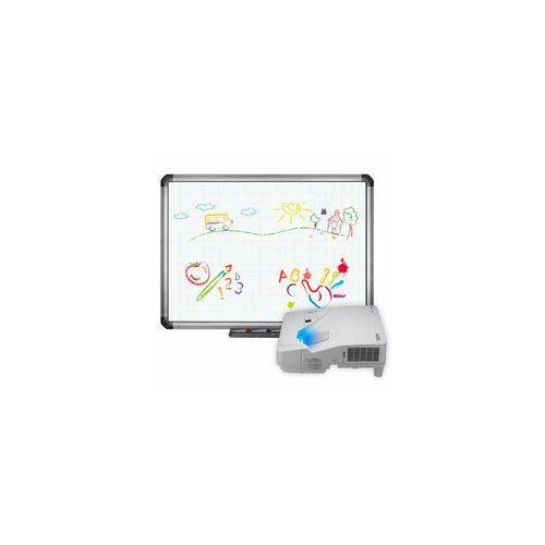 Tablica interaktywna TruBoard R5-800E + projektor ultra short NEC UM301X z uchwytem, 4B9D-279BB