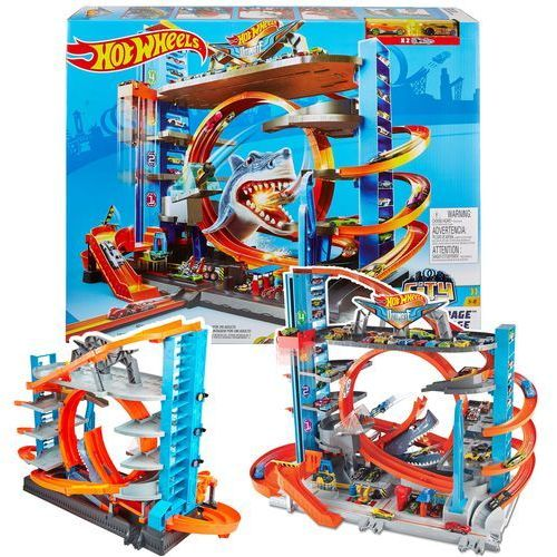 Mattel Mega garaż rekina (0887961639902)