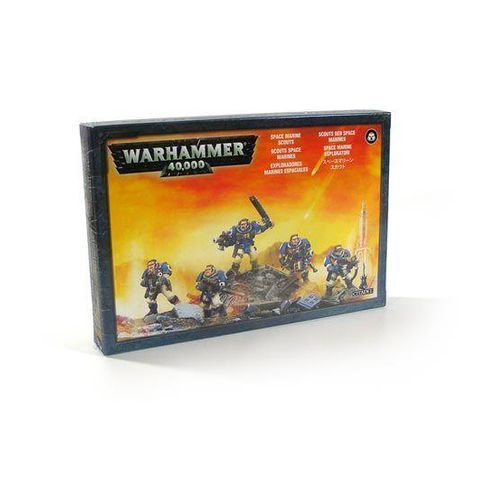 Space Marine Scouts (48-16) GamesWorkshop 99120101036