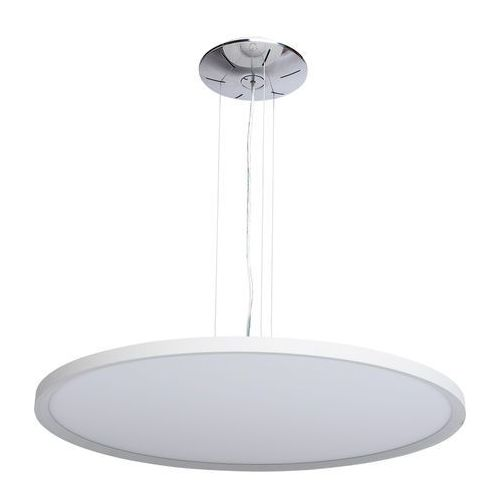 Okrągły plafon wiszący led do nowoczesnego wnętrza techno (674010101) marki Mw-light