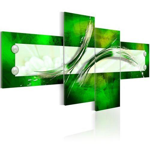 Obraz - zielony motyw abstrakcyjny