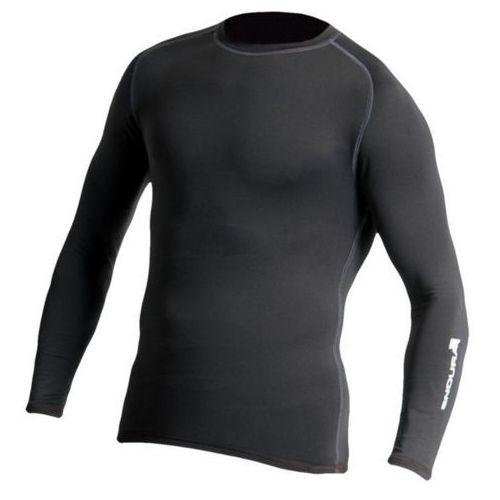 Koszulka z długim rękawem frontline czarny / rozmiar: l marki Endura