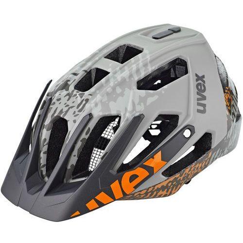 quatro kask rowerowy, dirt grey 52-57cm 2020 kaski rowerowe marki Uvex
