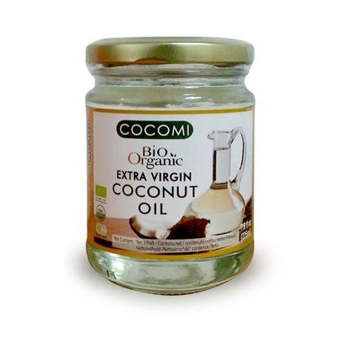 Cocomi (wody kokosowe, oleje kokosowe, śmietanki) Olej kokosowy virgin bio 225 ml - cocomi