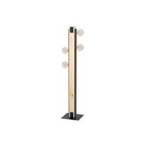 Eglo Layham 43471 lampa stojąca podłogowa 4x60W E27 drewno