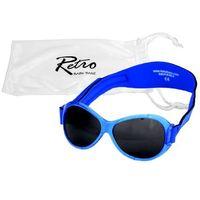 Banz Okulary przeciwsłoneczne uv dzieci 0-2lat retro - blue