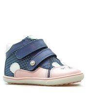 Półbuty profilaktyczne dziecięce Bartek 11702 Niebieski/Różowy