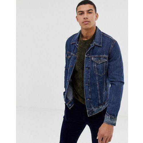 Levis Levi's palmer denim trucker jacket in mid wash - blue