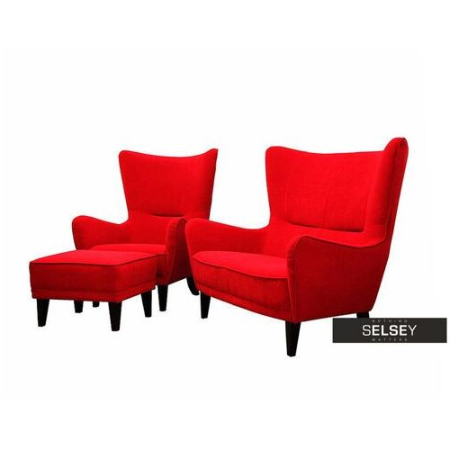 Selsey komplet wypoczynkowy mons sofa i fotel z podnóżkiem