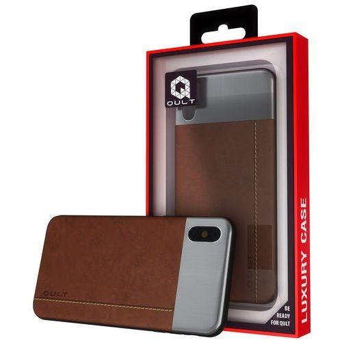 Kltrade Etui qult back case slate do iphone x brązowy (5901386763037)