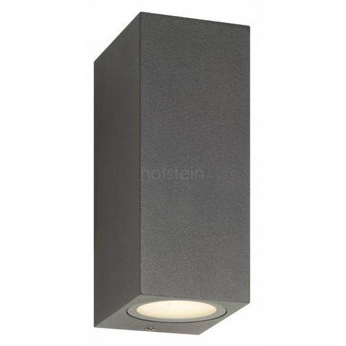 LCD Zewnętrzny kinkiet LED Czarny, 2-punktowe - Nowoczesny - Obszar zewnętrzny - LCD - Czas dostawy: od 3-6 dni roboczych (4260277680459)