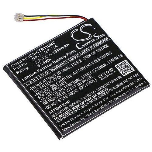 Casio tr mini / lis1639cspc 1000mah 3.70wh li-polymer 3.7v () marki Cameron sino