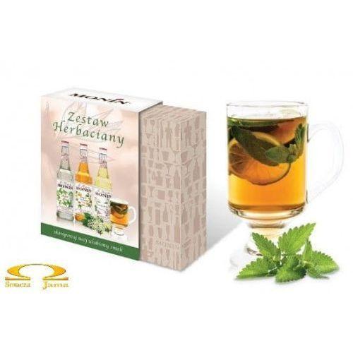Zestaw syropów MONIN Herbaciany 3x50ml, 893D-858BA