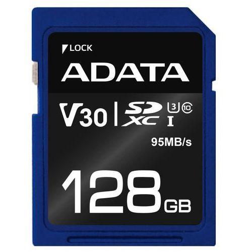A-Data karta pamięci Premier Pro SDXC 128GB (ASDX128GUI3V30S-R) (4713218463920)