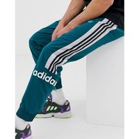 woven joggers with 3 stripes in green - green marki Adidas originals