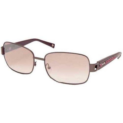 Okulary słoneczne  mo 560/strass 02 am marki Moschino