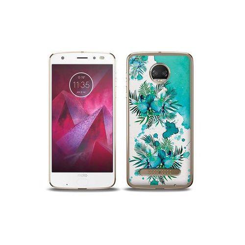 etuo Fantastic Case - Motorola Moto G6 Play - etui na telefon Fantastic Case - turkusowa orchidea, ETMT716FNTCFC005000