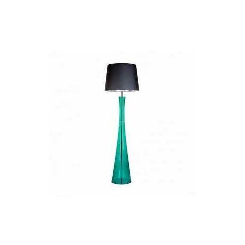 4concepts 4 concepts siena green l235312263 lampa stojąca podłogowa 1x60w e27 czarny