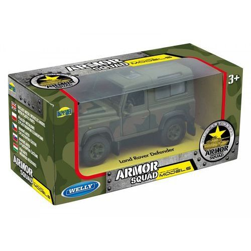 Welly pojazd wojskowy, land rover