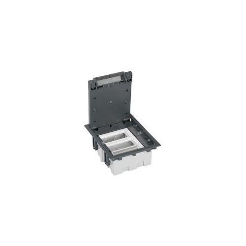 Puszka podłogowa 6 modułowa pogłębiana, SF310/1 + S66/9 + S66/9 + S66/9