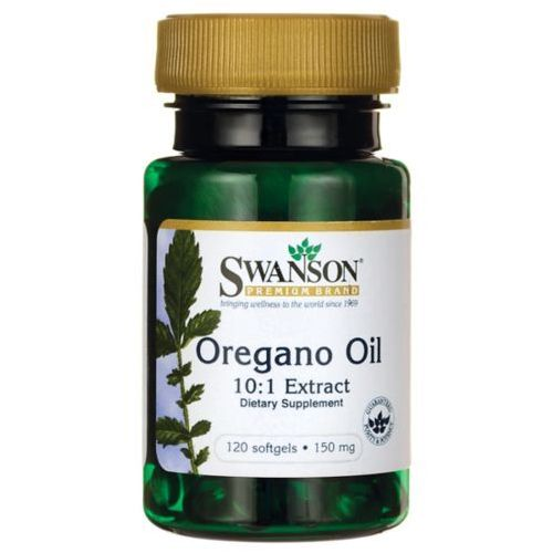 Kapsułki Swanson Olej z Oregano 10:1 Extract 150mg - (120 kap)