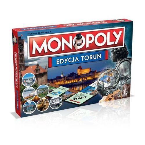 OKAZJA - Winning moves Gra planszowa monopoly edycja toruń nowość