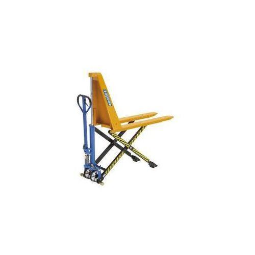 Nożycowy wózek podnośny, hydraulika ręczna, nośność 1000 kg. Wszystkie modele z