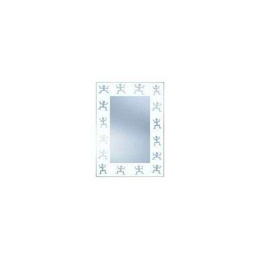 Lustro łazienkowe bez oświetlenia s n9bi 71 x 51 cm marki Dubiel vitrum