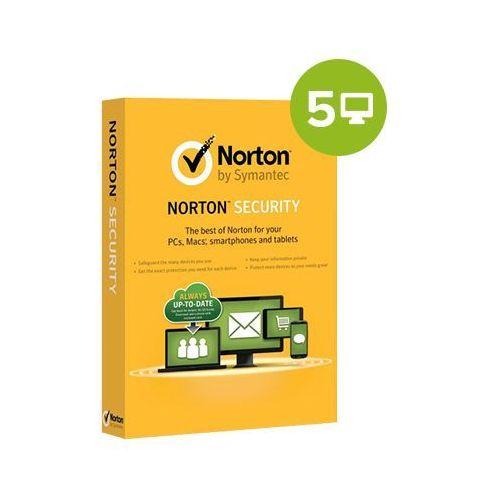 Symantec Norton security deluxe 2018 – 1-rok / 5 pc, licencja elektroniczna 32/64 bit