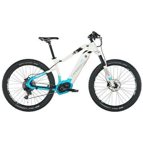 """Haibike sduro hardlife 6.0 rower elektryczny hardtail niebieski/biały 46cm (27.5+"""") 2018 rowery górskie (4054624089053)"""